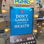 Giant Plinko carnival game