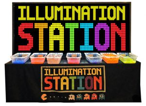 Giant Bright Light and Illumination Station