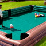 Giant Inflatable billiard table