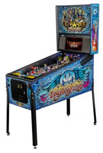 Pinball machine dedicated to hard-hitting feisty American rock band.