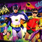 Batman 66 Pinball backglass