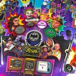 Batman 66 Pinball playfield