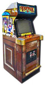 Classic 80's arcade game.