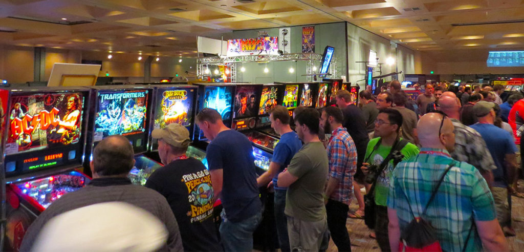 Annual meeting of arcade and pinball enthusiasts