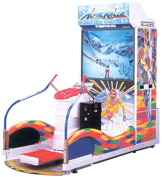 Alpine Racer Skiing Arcade Game rental from Video Amusement