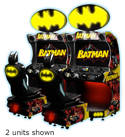 Batman Arcade Video Racing Game rental San Francisco Bay Area from Video Amusement