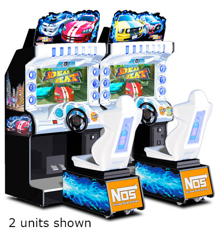Dead Heat Driving Arcade Game Rental from Video Amusement