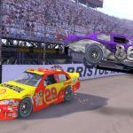 Driving simulator Nascar game rental from Video Amusement