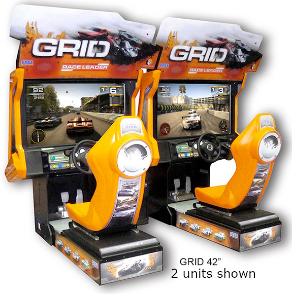 GRID Racing Arcade Game rental from Video Amusement