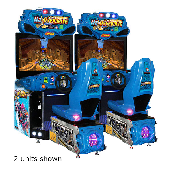 H2Overdrive Powerboat Racing Arcade Game from Video Amusement