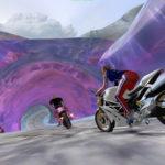 Motorcycle Arcade Racing Game Rental San Francisco California