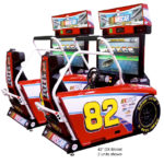 Nascar Racing Arcade Game rental San Francisco from Video Amusement