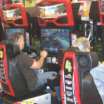 Nascar Racing arcade game for rent 4 player San Jose California