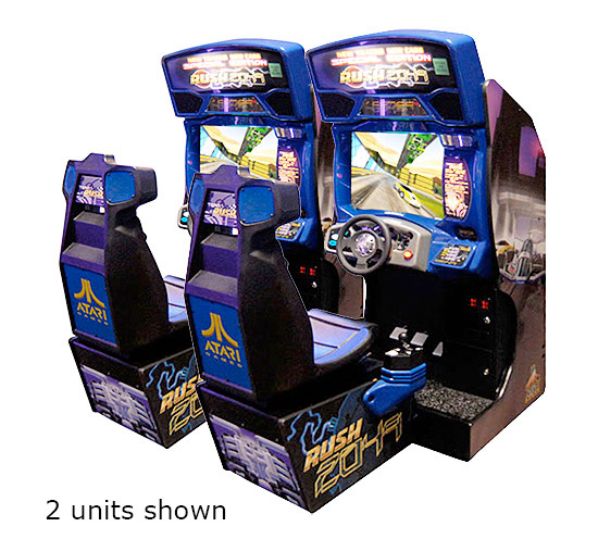 San Francisco Rush 2049 Driving Arcade Game rental from Video Amusement