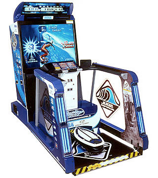Soul Surfer Surfing Simulator Arcade Game Rental from Video Amusement
