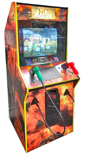 Area 51 Maximum Force Atari Shooting Arcade Game Rental