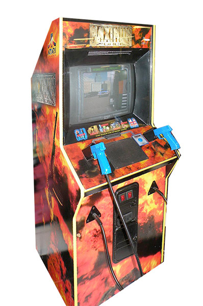 Area 51 Maximum Force Atari Shooting Arcade Game Rental from Video Amusement