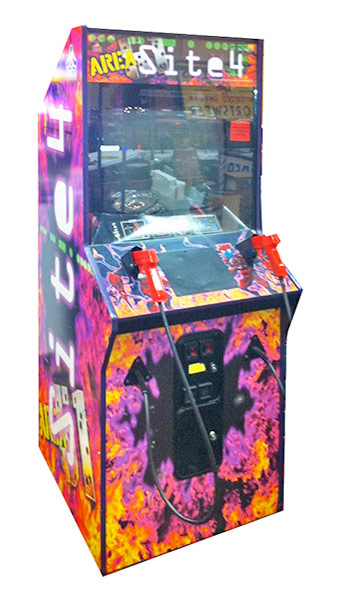 Area 51 Site 4 Shooting Arcade Game Rental San Francisco from Video Amusement