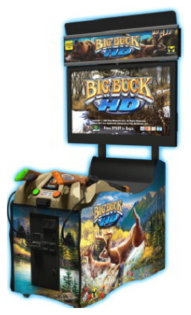 Big Buck Hunter HD Arcade Game Rental San Francisco from Video Amusement