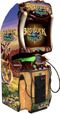 Big Buck World Hunting shooting game rental from Video Amusement