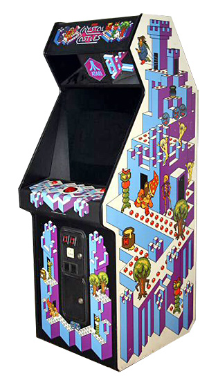 Crystal Castles - Classics Arcade Game for rent