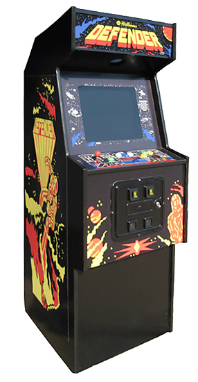 Defender - Classic Arcade Game from Video Amusement
