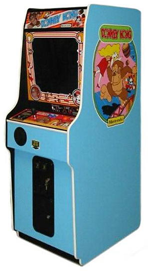 Donkey Kong - Classic Arcade Game available for rent from Video Amusement