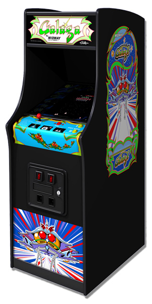 Galaga - Classic Arcade Game From Video Amusement