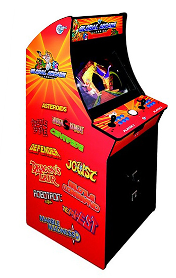 Global Arcade Classics - Classic Arcade Game available for rent from Video Amusement