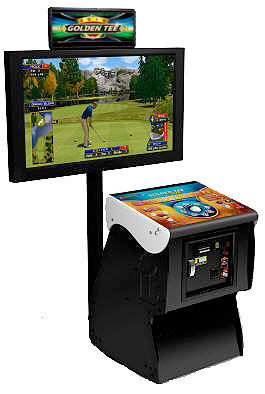 Golden Tee Golf 2019 Arcade Game Rental San Francisco from Video Amusement