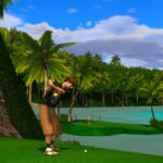 Golden Tee Golf Live Arcade Game Rental San Francisco Screen shoot