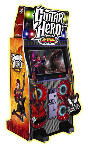 Guitar Hero Arcade - Arcade Game for rent