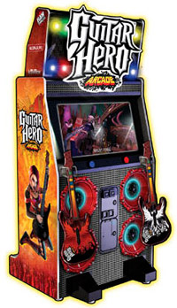 Guitar Hero Arcade Game For Rent from Video Amusement
