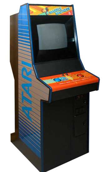 Marble Madness - Classics Arcade Game from Video Amusement Rental
