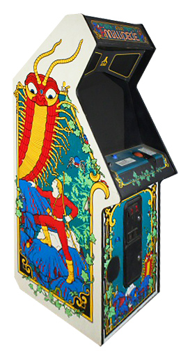 Millipede - Classic Arcade Game from Video Amusement