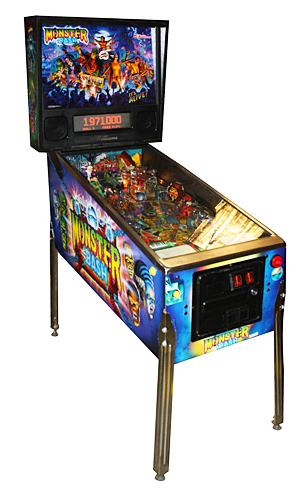 Monster Bash pinball - Classic Pinball Collection