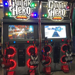 Musical Guitar Heros Konami Game Rental from Video Amusement