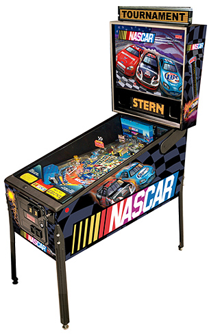 Nascar pinball - Latest Pinball Collection
