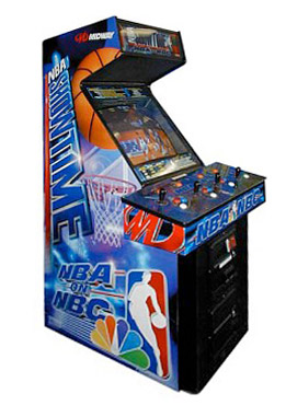 NFL Blitz 2000 NBA Jam Arcade Game rental from Video Amusement