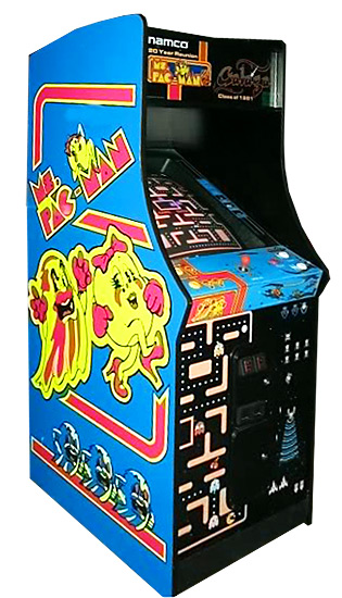 PacMan Anniversary Edition - Classic Arcade Game available for rent from Video Amusement