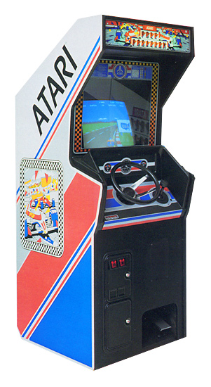 Pole Position - Classics Arcade Game available for rent from Video Amusement