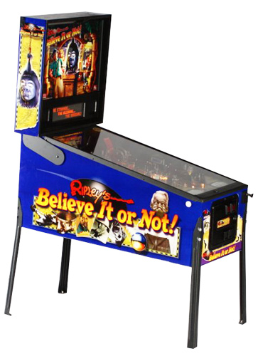 Ripley's Believe it or Not! Pinball - Latest Pinball Collection