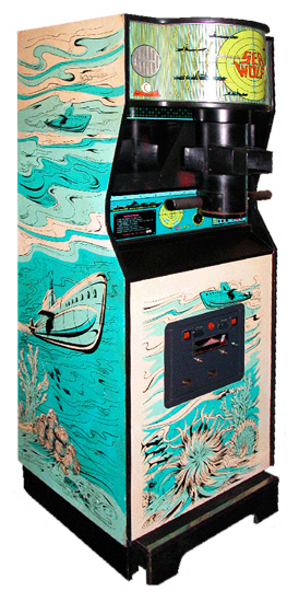 Sea Wolf - Classics Arcade Game from Video Amusement