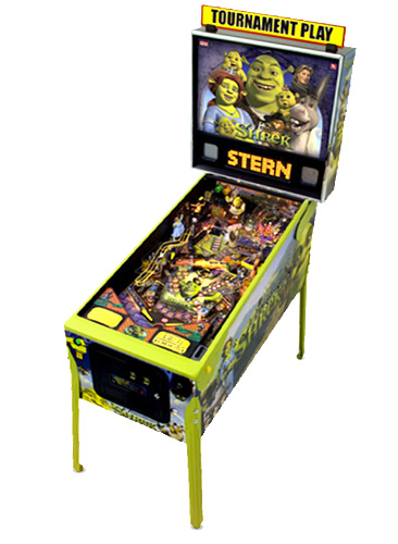 Shrek Pinball Machine from Video Amusement Rental