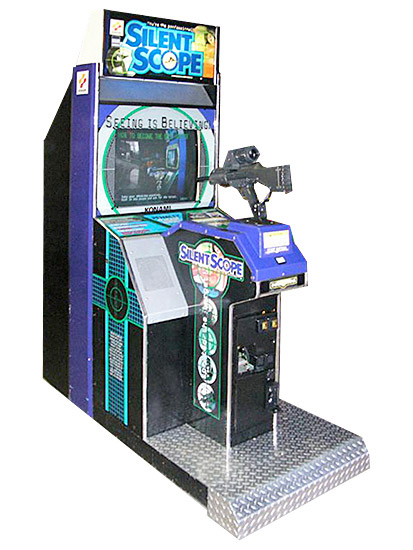 Silent Scope Shooting Arcade Game Rental from Video Amusement
