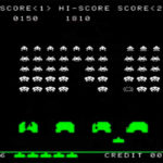 Space Invaders Classic 80s Arcade Game screen shoot rental