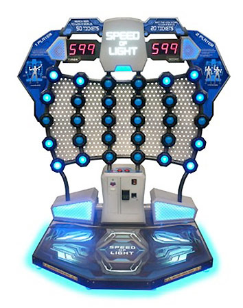 Speed of light arcade game rental San Francisco Video Amusement