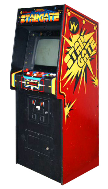 Stargate - Classics Arcade Game from Video Amusement