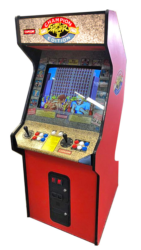 Street Fighter 2 Arcade Game Event Party Rental San Jose