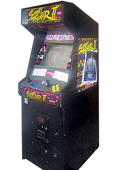 Street Fighter II Arcade Game Rental San Francisco by Video Amusement